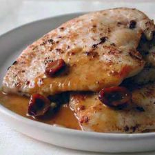 Turkey Cutlets with Cranberry and Orange