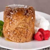 Sticky Apple Pudding - Microwave Mug