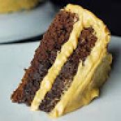 Baileys Chocolate Cake with Peanut Butter Frosting