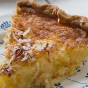 Coconut & Pineapple Pie