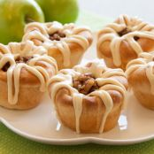 Salted Caramel Apple Cups