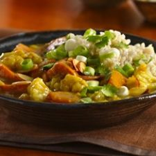 Sweet Potato-Cauliflower Curry Recipe