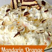 Mandarin Orange Cookie Dessert Salad