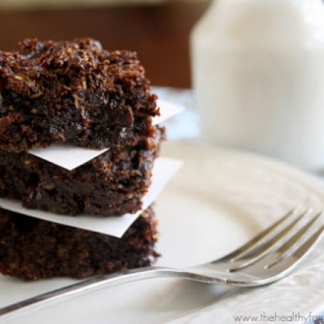 brownie - Flourless Zucchini Brownies