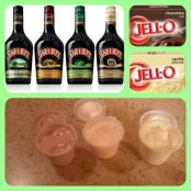 Irish Cream Pudding Shots
