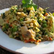 Thai Vegetables with Couscous