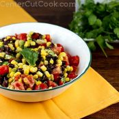 Corn, Black Bean, Avocado, & Tomato Salad