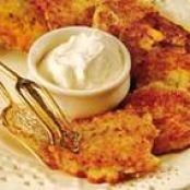 Cauliflower Latkes with Za'atar Aioli