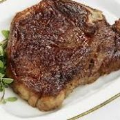 Pan-fried T-Bone Steak