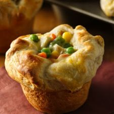 Grands Chicken Pot Pie Puffs