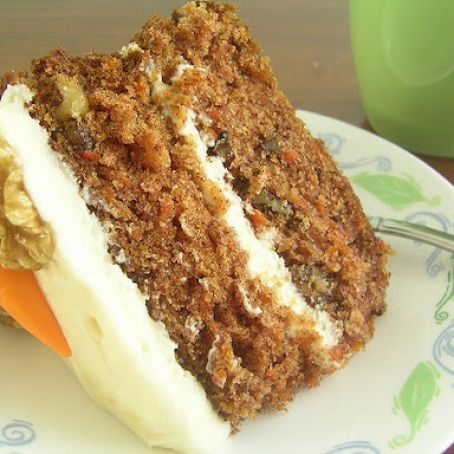 Carrot Cake & Cream Cheese Frosting