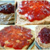 Strawberry Balsamic Jam (using pectin)