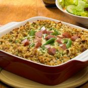 Sausage and Stuffing Casserole