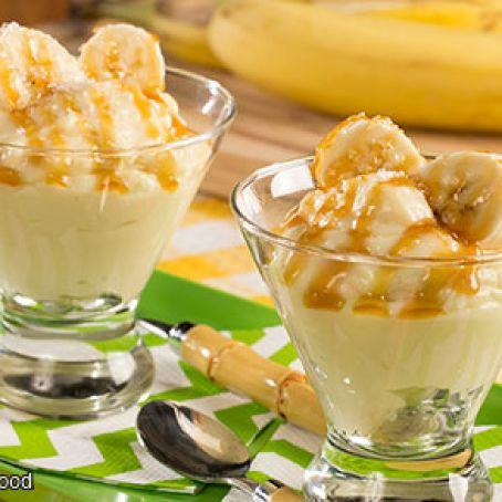 Caramel Sea Salt Banana Pudding
