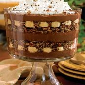 Chocolate-Banana Pudding Trifle