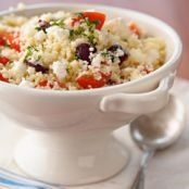 Couscous Salad with Feta, Tomato, and Olives — Jamie and Bobby Deen