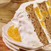 Carrot Mandarin Layer Cake