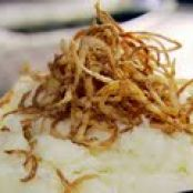 Mash Potatoes with Fried Shallots