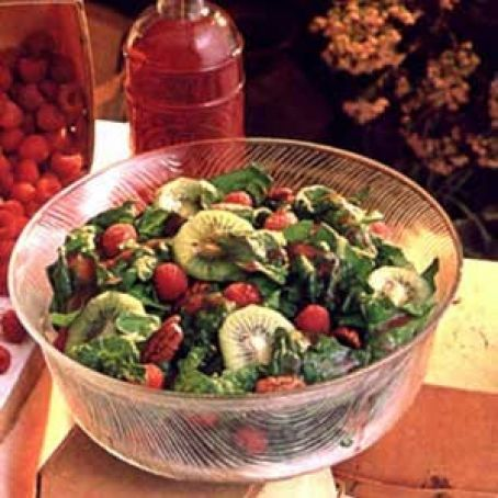 Raspberry Spinach Salad