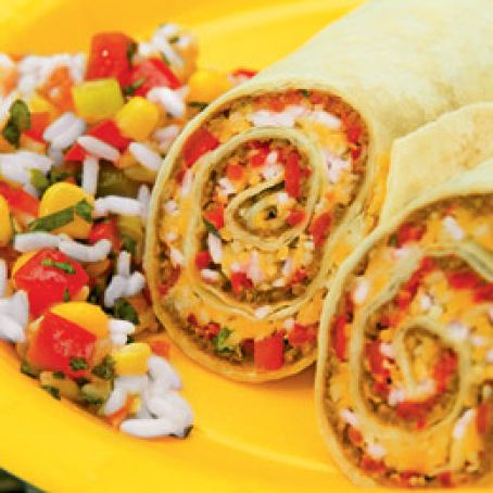 Entrees:  Beef-Taco Rolls