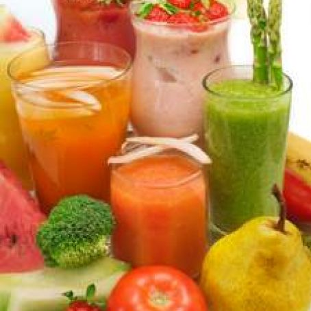 Fruit & Veggie Smoothies