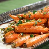 Ginger Ale Glazed Carrots