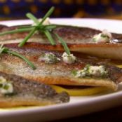 Lemon Chive Butter for Trout