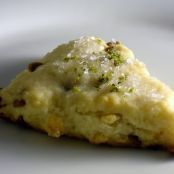 Key Lime and White Chocolate Scones
