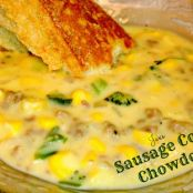 Sausage Corn and Brocoli Chowder