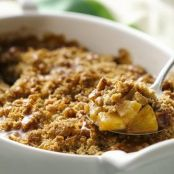 Caramel Apple Oatmeal Crisp