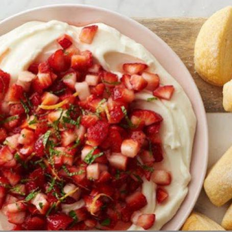 Strawberry Shortcake Dip