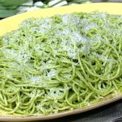 Mario Batali's Spaghetti with Green Tomatoes