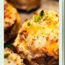 Truffle Twice-Baked Potato