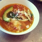 Baby Acapulco Chicken Tortilla Soup