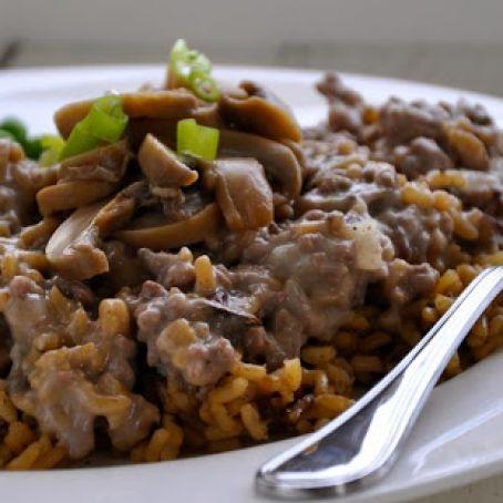 Wild Rice Ground Beef Casserole Recipe 4 4 5
