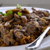 Wild Rice Ground Beef Casserole