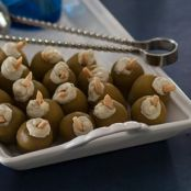 Blue Cheese-Stuffed Olives Martini
