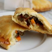 Turkey Sausage, Sweet Potato & Sage Hand Pies (Pasties)