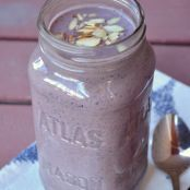 Blueberry Almond Chia Smoothie