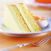 Orange and Cream Cake