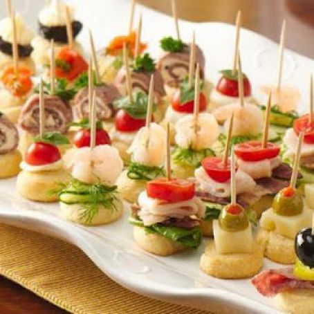 Mini Crostini Appetizers