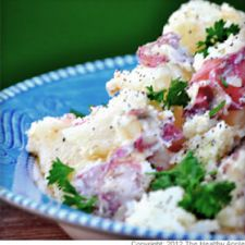 Positively The Best Potato Salad with Parsley Pesto
