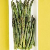 Roasted Asparagus with Parmesan