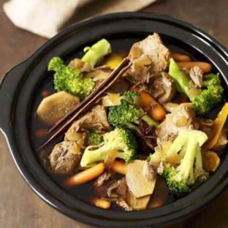 Asian-Style Pork in Your Slow Cooker