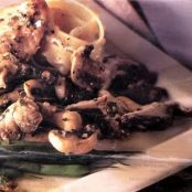 Veal Scaloppini with Marsala and Mushrooms