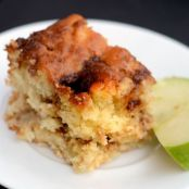 Apple Cinnamon Kugel with Tofutti Sour Cream