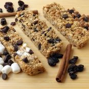 S'more Chewy No Bake Granola Bars