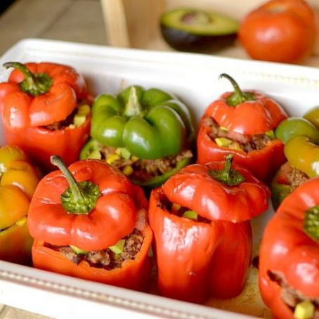 Burrito Stuffed Peppers