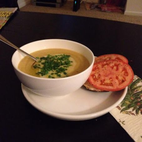 Amma's Cauliflower soup