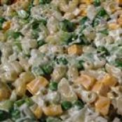 Sour cream Cheddar macaroni Salad
